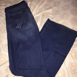 7FAMK 7 for all mankind dojo jeans 28